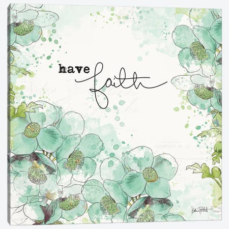 Dream And Faith II 3-Piece Canvas #WAC7105} by Katie Pertiet Canvas Print