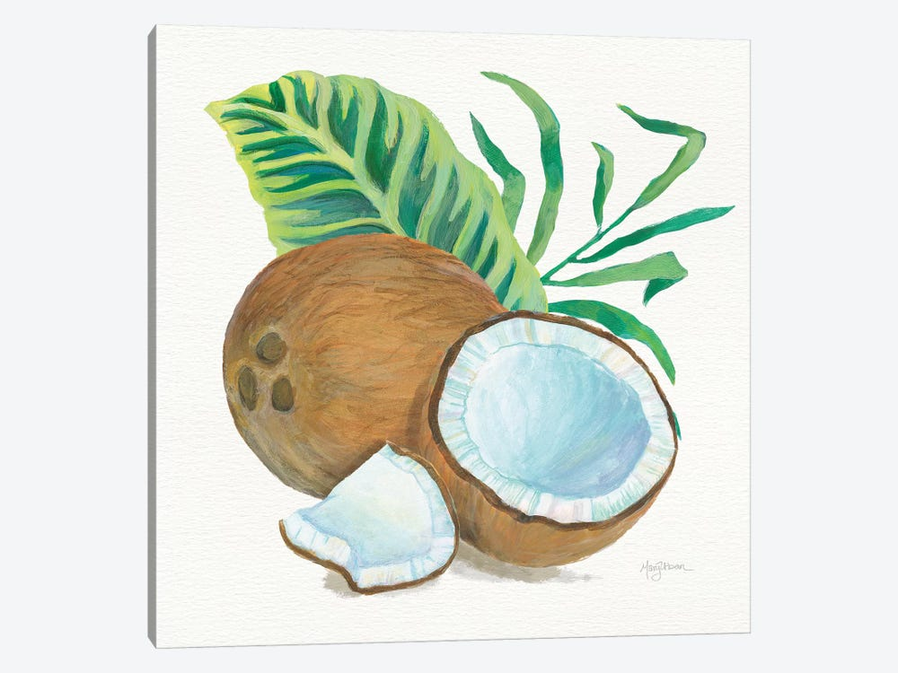 Coconut Palm II by Mary Urban 1-piece Canvas Art Print