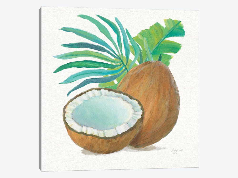 Coconut Palm III by Mary Urban 1-piece Canvas Artwork