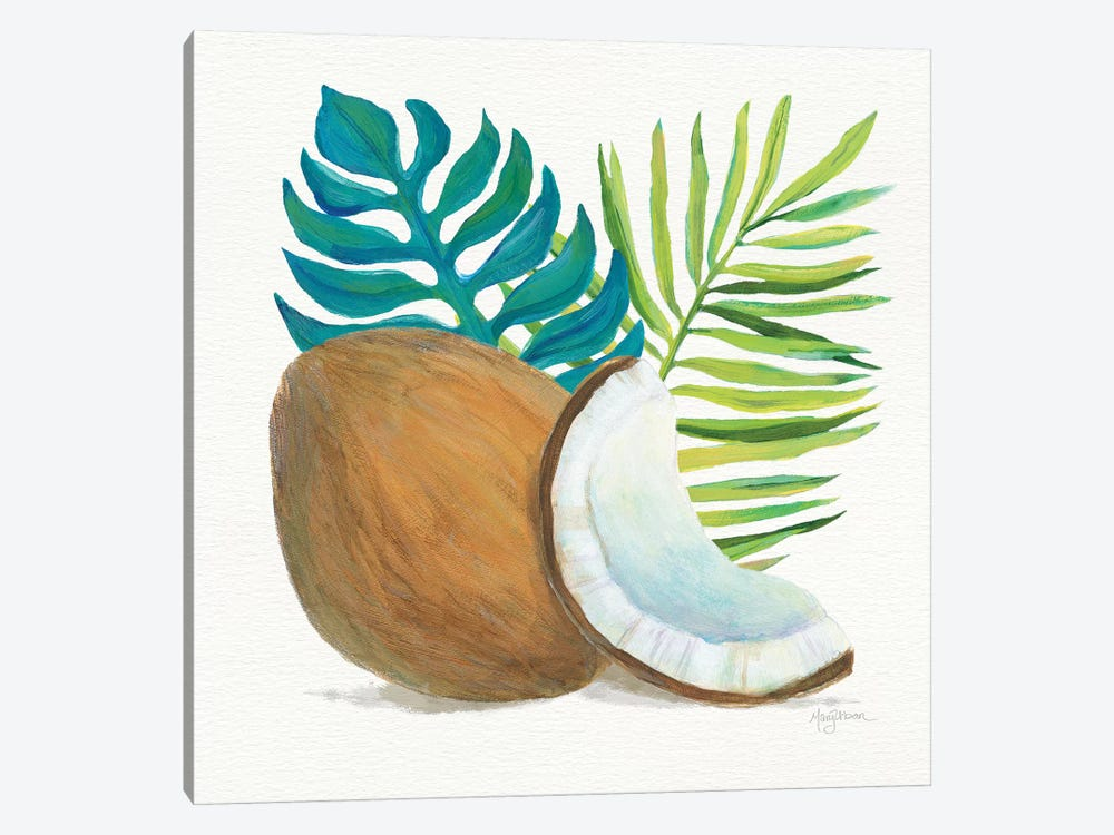 Coconut Palm IV by Mary Urban 1-piece Canvas Print