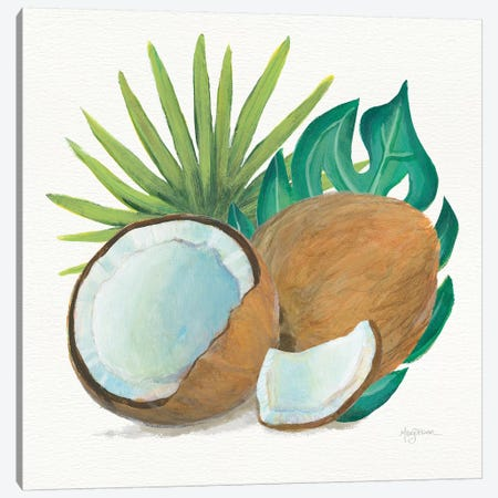 Coconut Palm V Canvas Print #WAC7109} by Mary Urban Canvas Art