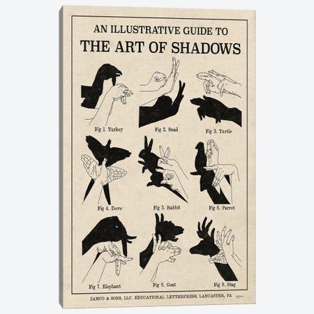 The Art Of Shadows X Canvas Print #WAC7116} by Mary Urban Canvas Art