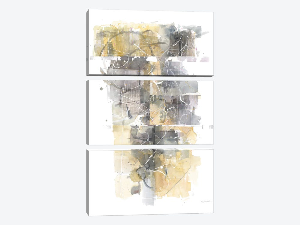 Moving In And Out Of Traffic I by Mike Schick 3-piece Canvas Art Print