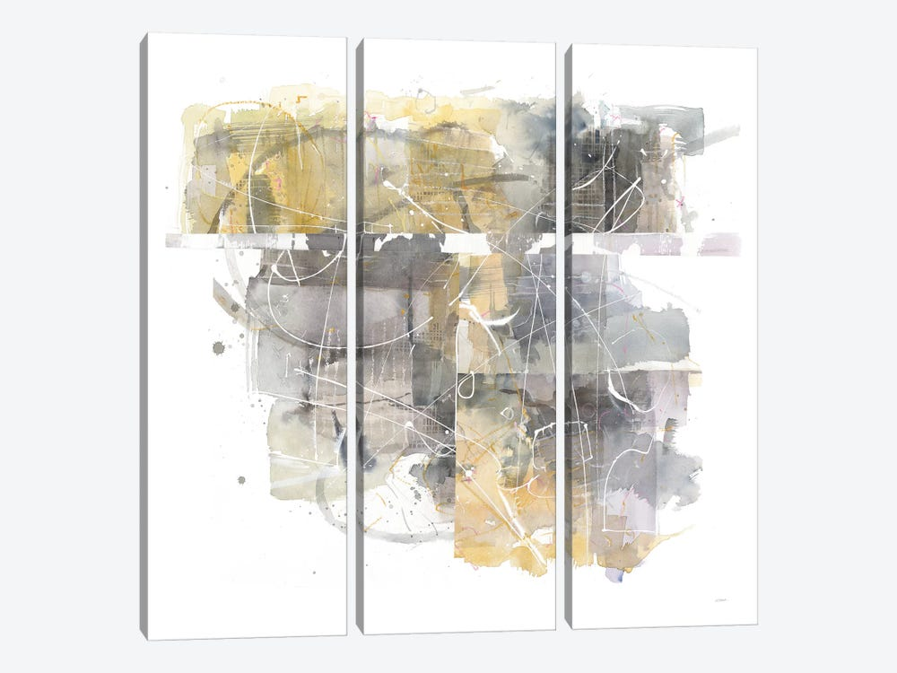 Moving In And Out Of Traffic II by Mike Schick 3-piece Canvas Wall Art