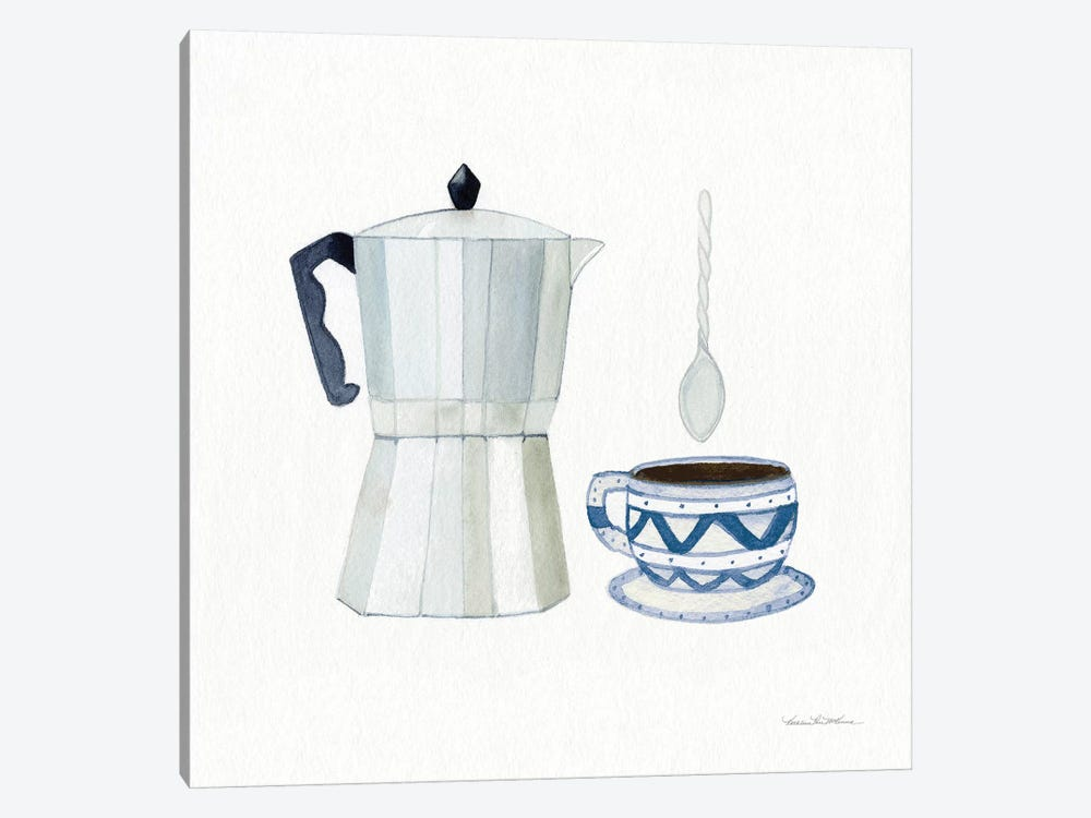 Coffee Break VII by Kathleen Parr McKenna 1-piece Canvas Print
