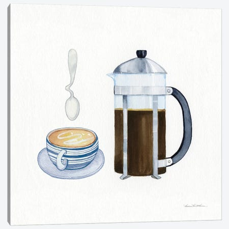 Coffee Break VIII Canvas Print #WAC7123} by Kathleen Parr McKenna Canvas Artwork
