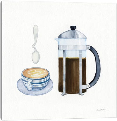 Coffee Break VIII Canvas Art Print