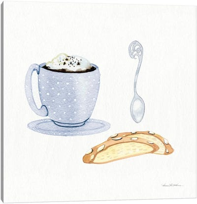 Coffee Break IX Canvas Art Print