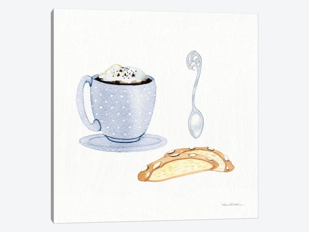 Coffee Break IX by Kathleen Parr McKenna 1-piece Canvas Print