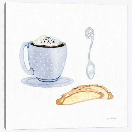 Coffee Break IX Canvas Print #WAC7124} by Kathleen Parr McKenna Art Print