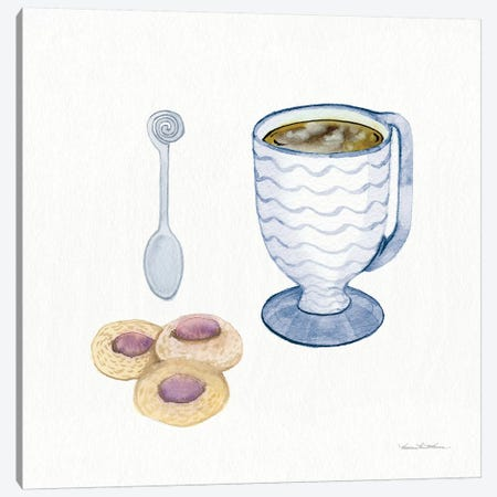 Coffee Break X Canvas Print #WAC7125} by Kathleen Parr McKenna Canvas Print