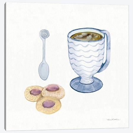 Coffee Break X Canvas Print #WAC7125} by Kathleen Parr McKenna Canvas Print