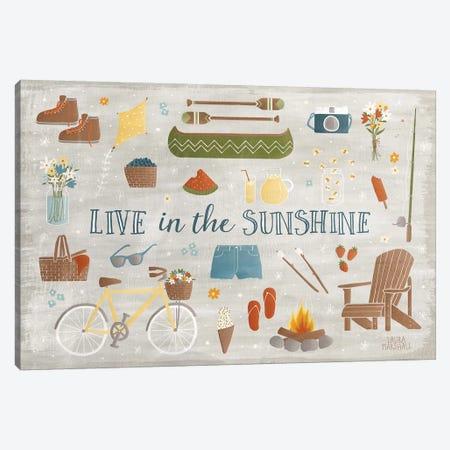 Summer Sunshine III 3-Piece Canvas #WAC7129} by Laura Marshall Canvas Art