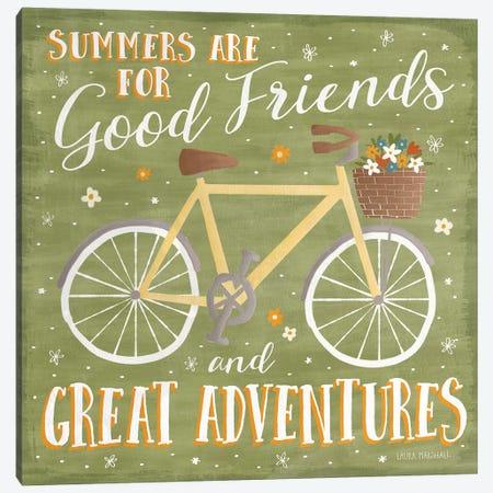 Summer Sunshine IV Canvas Print #WAC7130} by Laura Marshall Art Print