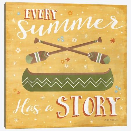 Summer Sunshine VI Canvas Print #WAC7132} by Laura Marshall Art Print