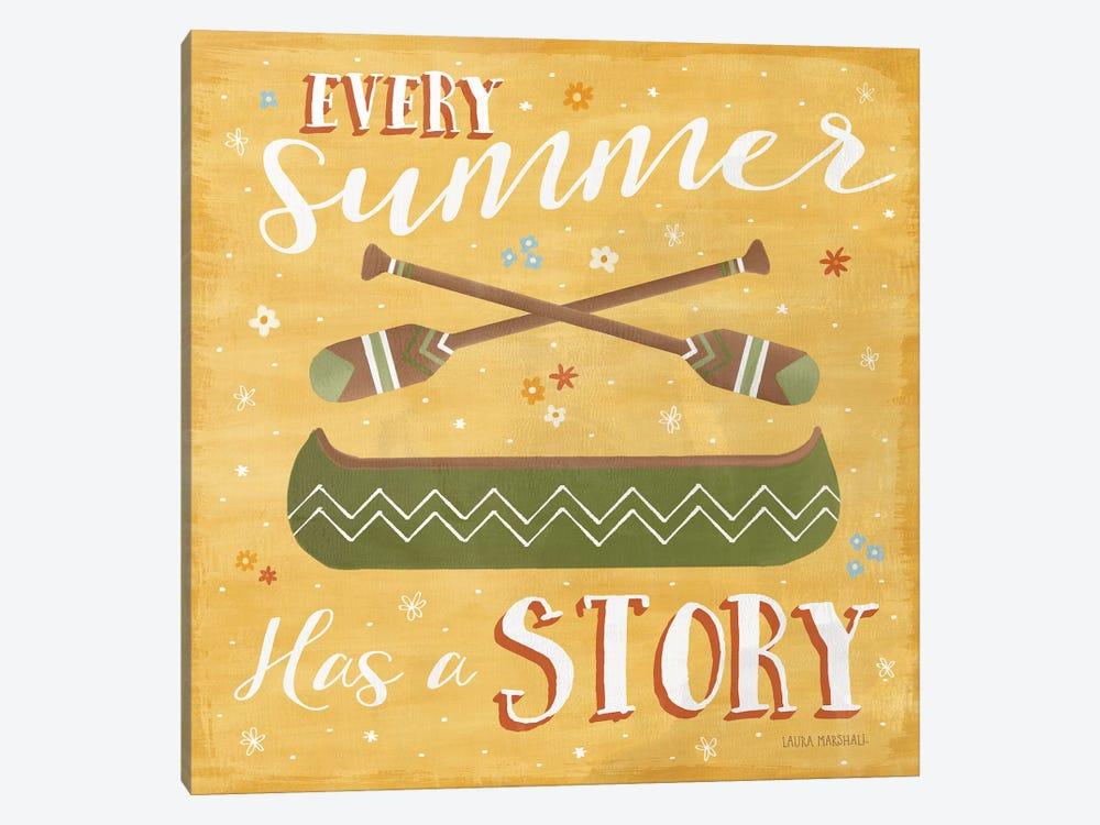 Summer Sunshine VI by Laura Marshall 1-piece Canvas Wall Art