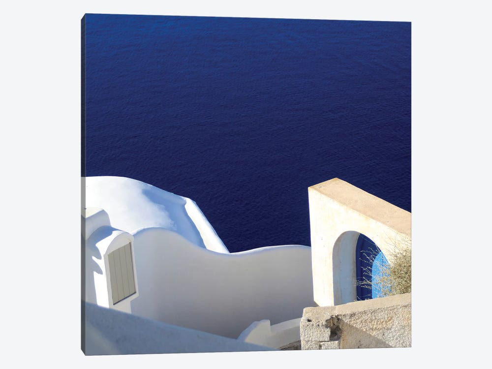 Santorini II by Sara Zieve Miller 1-piece Canvas Art