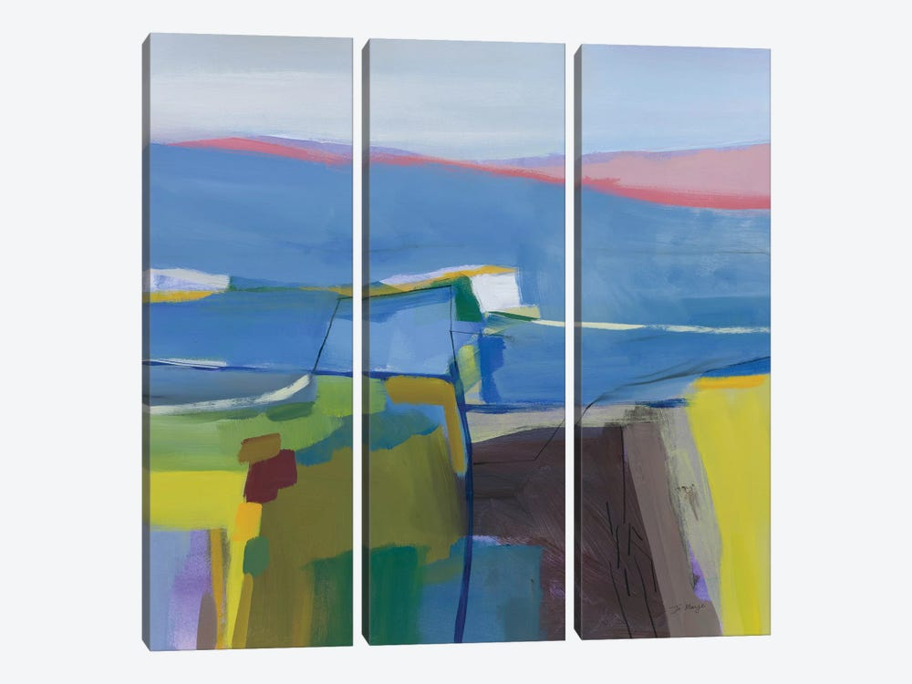 Hill Side by Jo Maye 3-piece Art Print