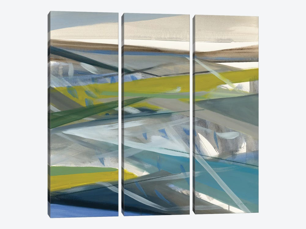 Reaching Forward by Jo Maye 3-piece Canvas Wall Art