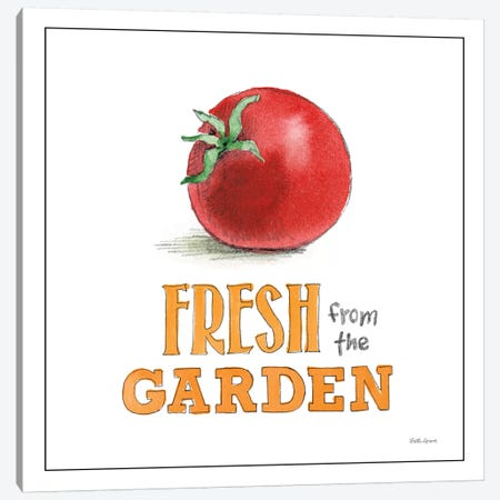 Fresh From The Garden I Canvas Print #WAC7174} by Beth Grove Canvas Wall Art