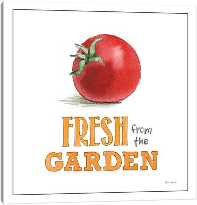 Fresh From The Garden I Canvas Art Print