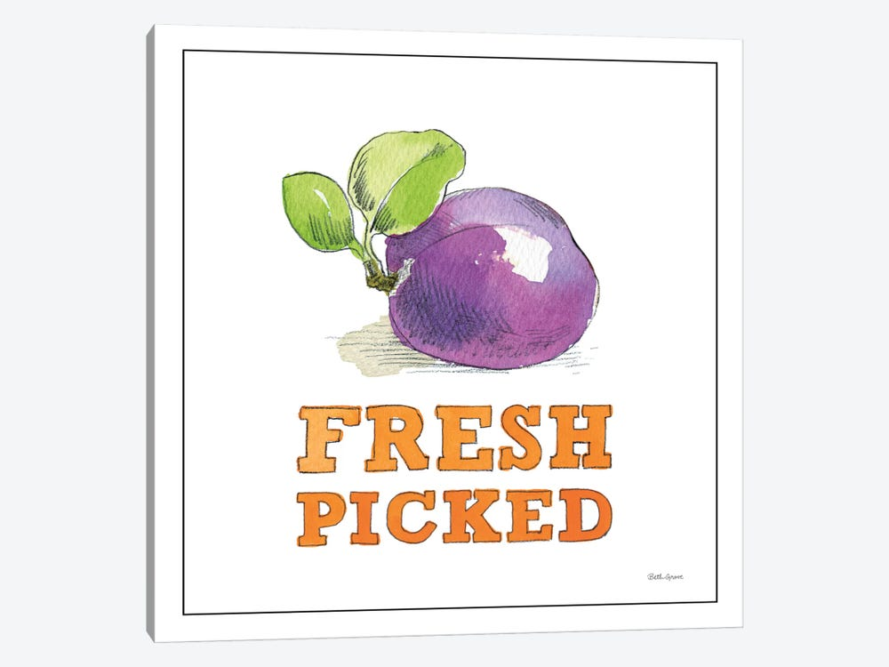 Fresh From The Garden II by Beth Grove 1-piece Art Print