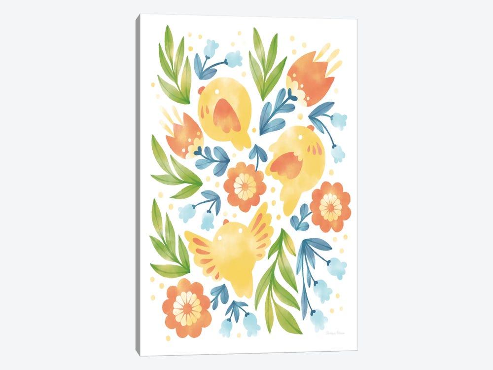 Spring Fling II by Cleonique Hilsaca 1-piece Canvas Artwork