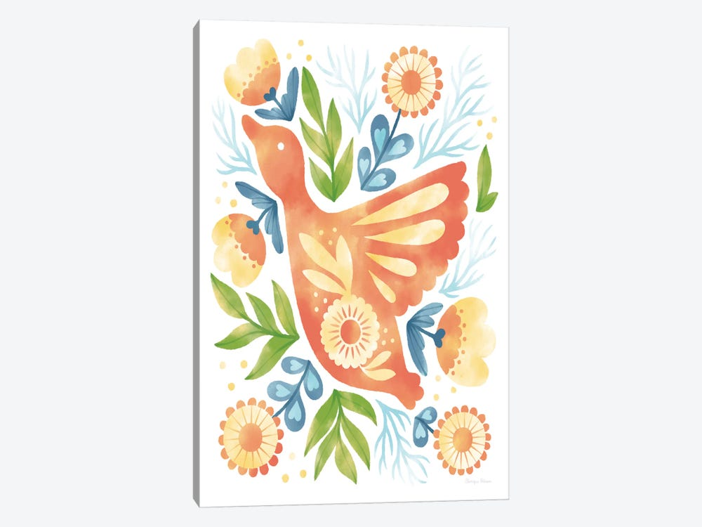 Spring Fling III by Cleonique Hilsaca 1-piece Canvas Print