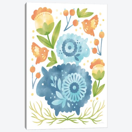 Spring Fling IV Canvas Print #WAC7194} by Cleonique Hilsaca Canvas Artwork