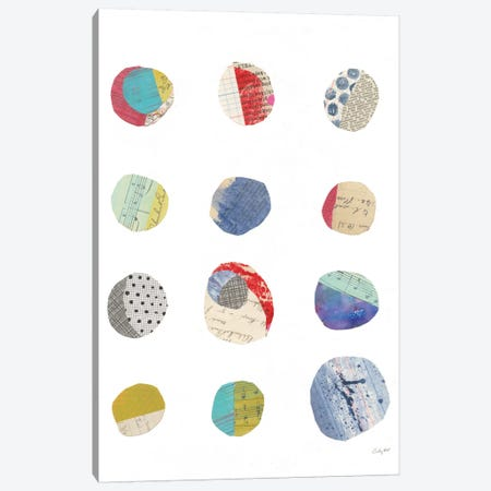 Geometric Collage I Canvas Print #WAC7195} by Courtney Prahl Canvas Wall Art