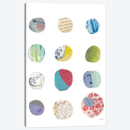 Geometric Collage II Canvas Print #WAC7196} by Courtney Prahl Canvas Wall Art