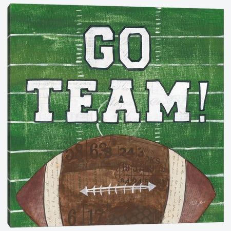 On The Field I: Go Team Canvas Print #WAC7197} by Courtney Prahl Canvas Art