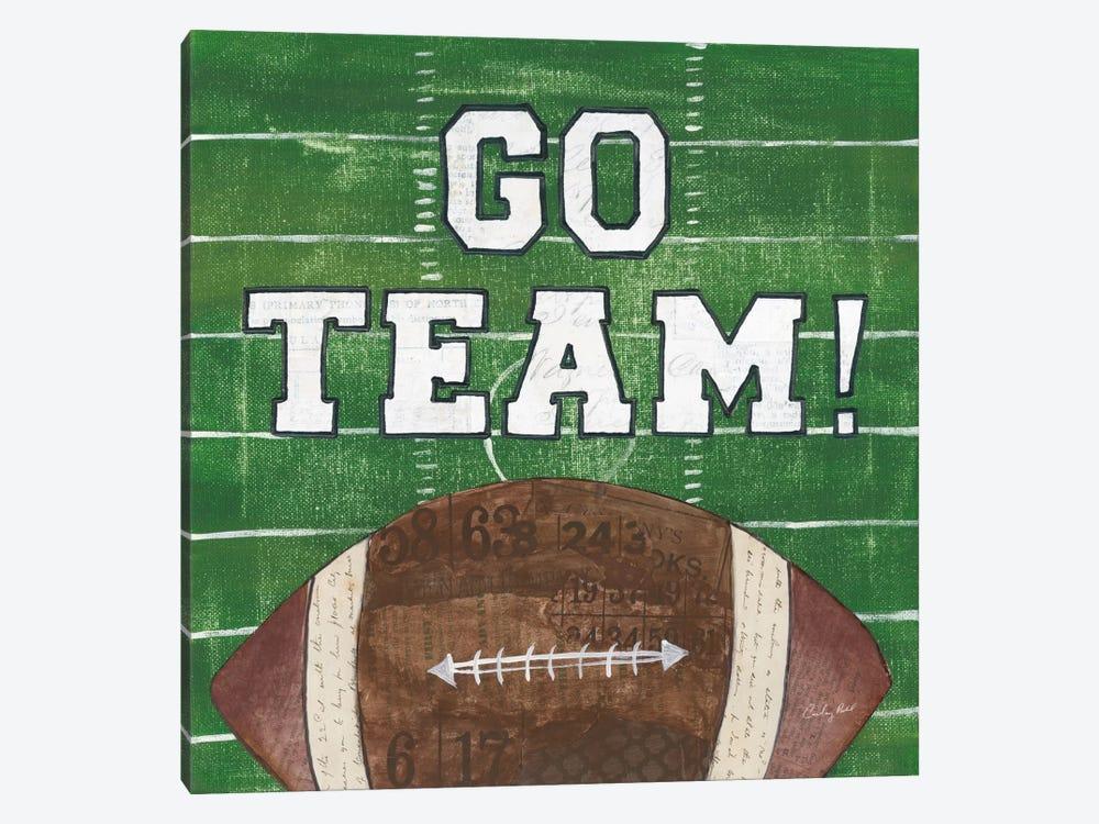 On The Field I: Go Team by Courtney Prahl 1-piece Art Print