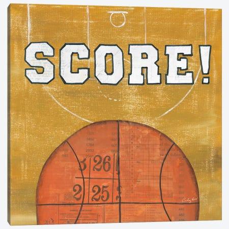 On The Field II: Score Canvas Print #WAC7198} by Courtney Prahl Art Print