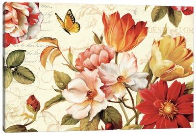Poesie Florale III Canvas Print #WAC719