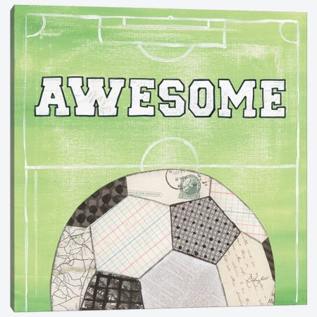 On The Field IV: Awesome Canvas Print #WAC7200} by Courtney Prahl Art Print