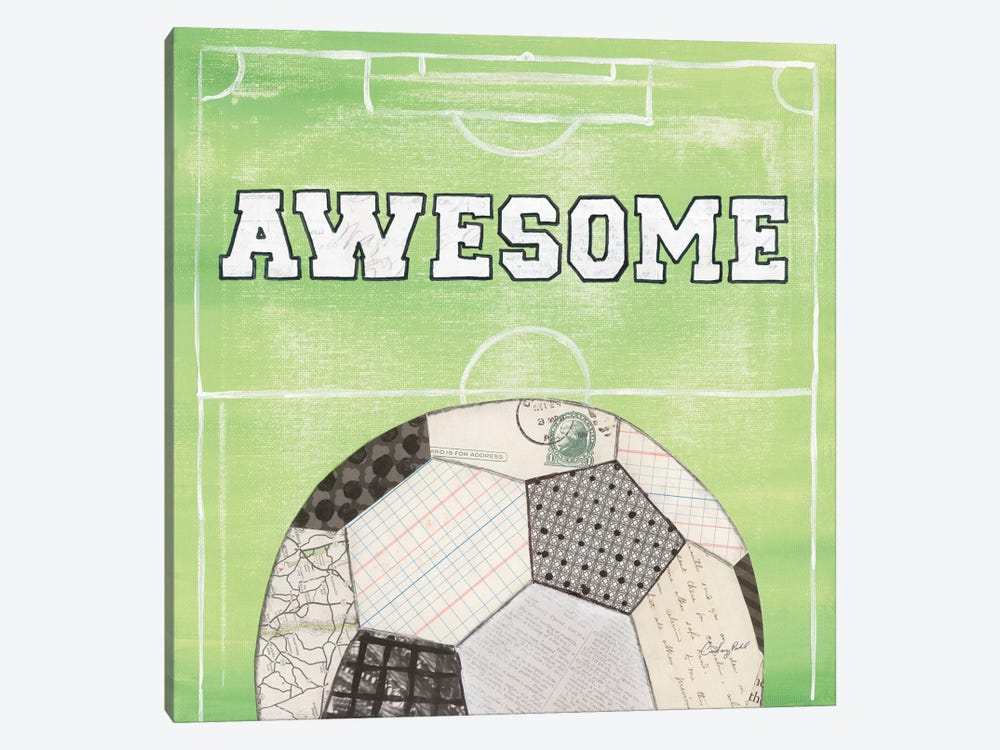 On The Field IV: Awesome by Courtney Prahl 1-piece Art Print