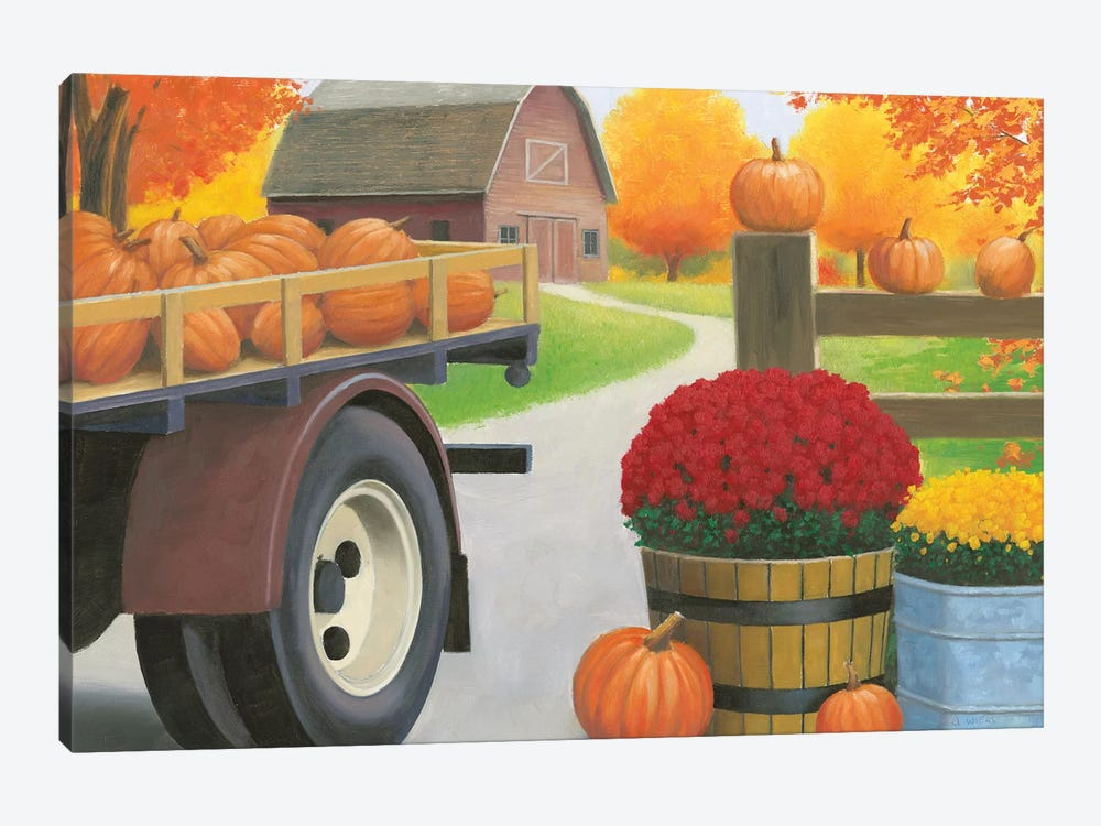Autumn Affinity I by James Wiens 1-piece Canvas Artwork