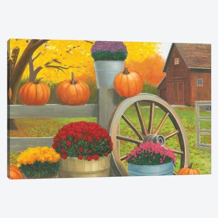 Autumn Affinity II Canvas Print #WAC7228} by James Wiens Art Print