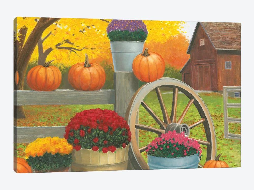 Autumn Affinity II by James Wiens 1-piece Canvas Print