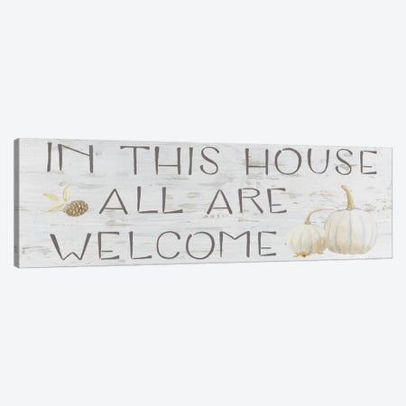Beautiful Bounty Sign I Canvas Print #WAC7229} by James Wiens Art Print