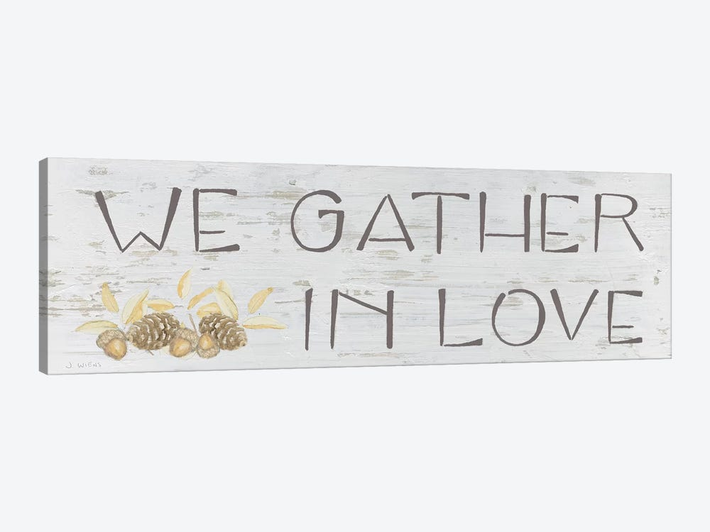 Beautiful Bounty Sign IV by James Wiens 1-piece Canvas Wall Art