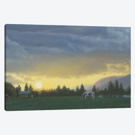Farm Life II Canvas Print #WAC7234} by James Wiens Canvas Print