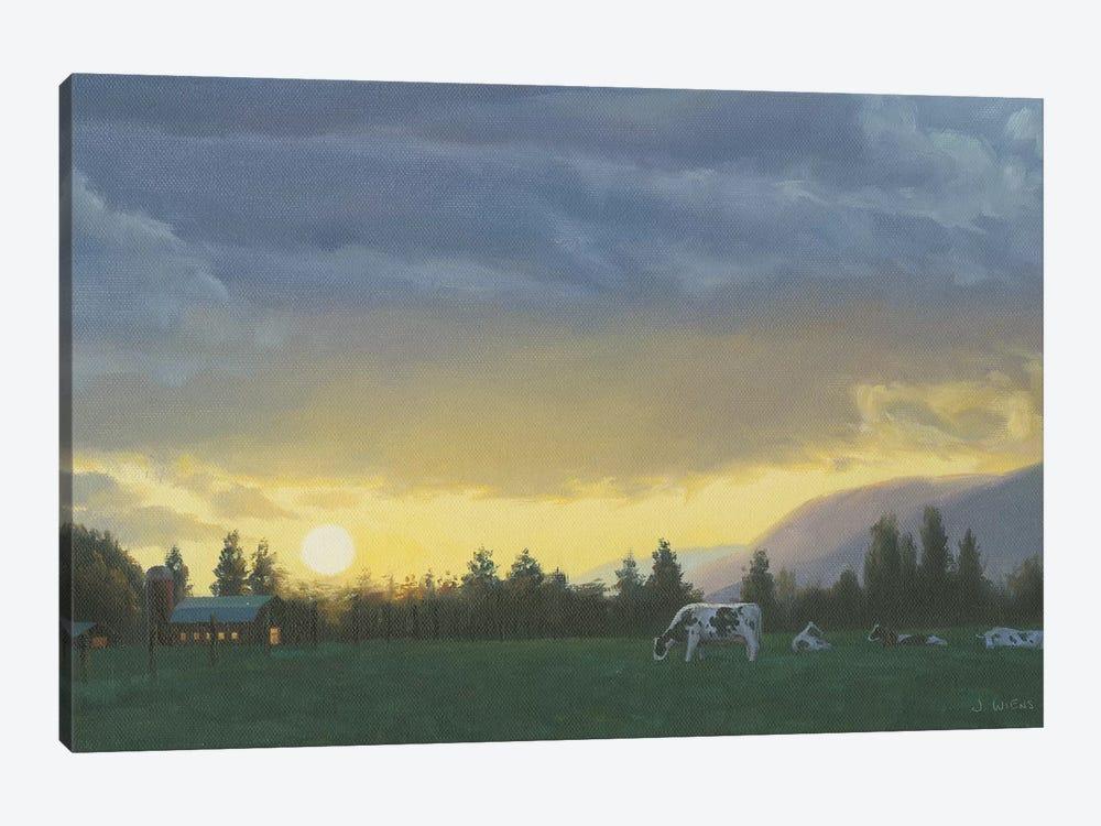Farm Life II by James Wiens 1-piece Canvas Art