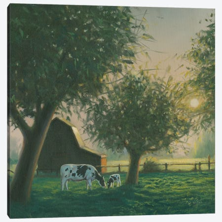 Farm Life IV Canvas Print #WAC7236} by James Wiens Canvas Print
