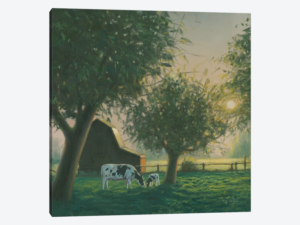 Farm Life IV by James Wiens 1-piece Canvas Artwork
