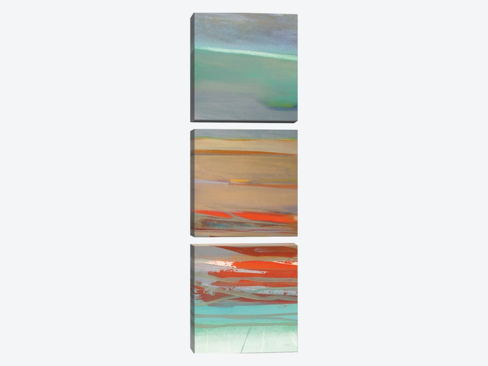 Layers I by Jo Maye 3-piece Canvas Wall Art