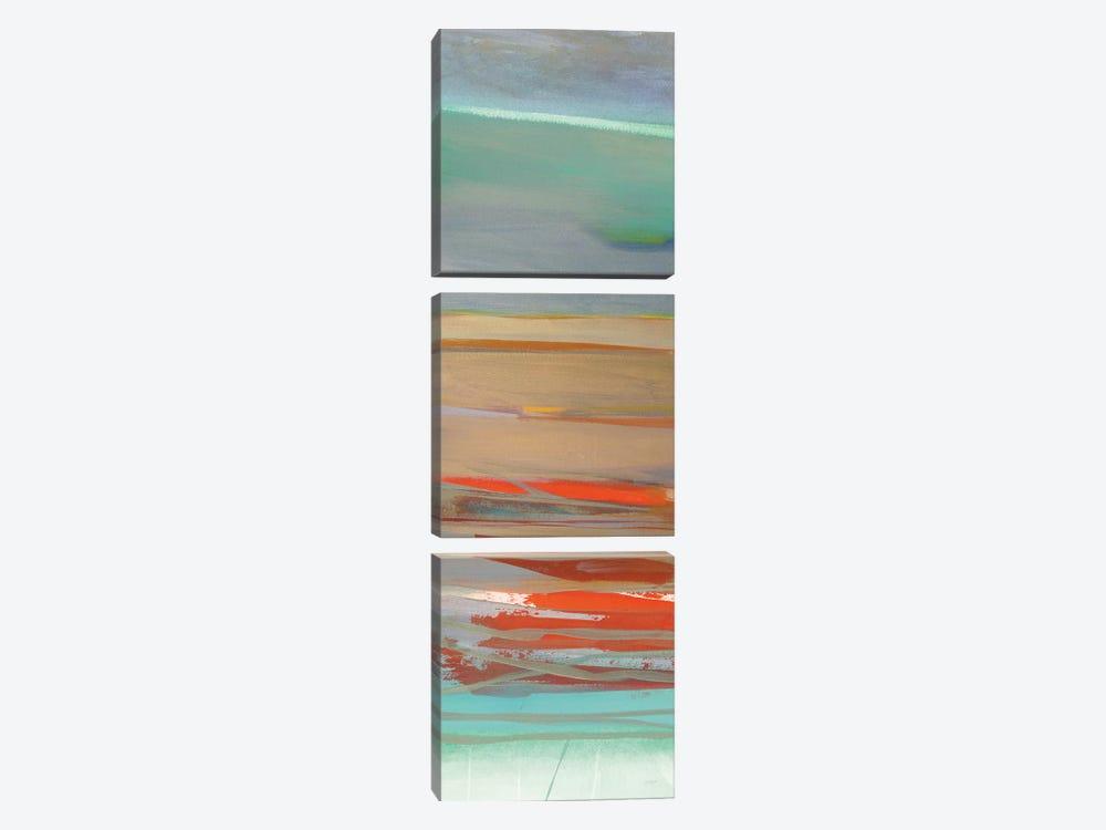 Layers I by Jo Maye 3-piece Canvas Wall Art