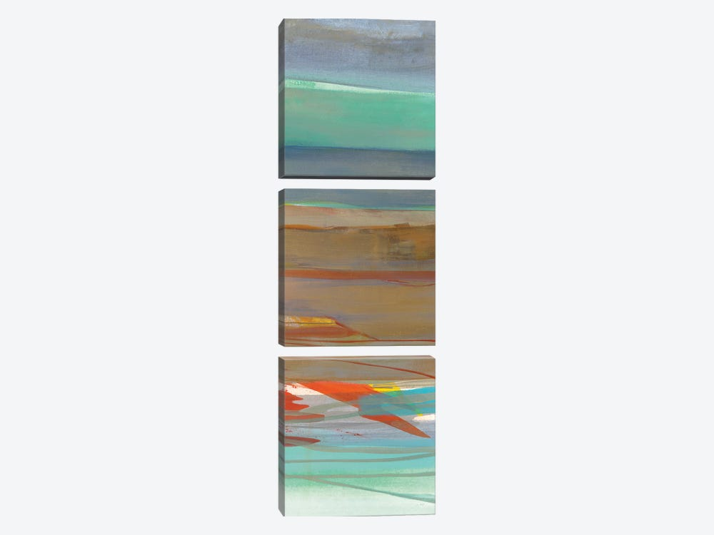 Layers II by Jo Maye 3-piece Canvas Print