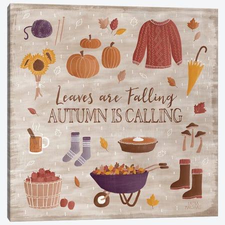 Autumn Enchantment I Canvas Print #WAC7275} by Laura Marshall Canvas Art Print